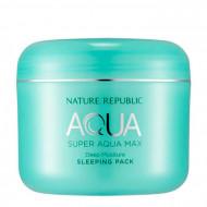 Маска для лица ночная NATURE REPUBLIC SUPER AQUA MAX DEEP MOISTURE SLEEPING PACK(RR) 100мл: фото