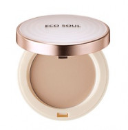 Пудра санскрин THE SAEM Eco Soul UV Sun Pact 23 Natural Beige 11г: фото