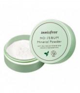 Пудра минеральная для жирной кожи INNISFREE NOSEBUM MINERAL POWDER 5G: фото