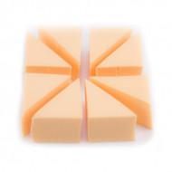 Набор латексных треугольных спонжей Make-Up Atelier, 8 шт: фото