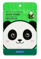 Набор тканевых масок с алоэ Milatte Fashiony Aloe Mask, 21 гр.*10 шт.: фото