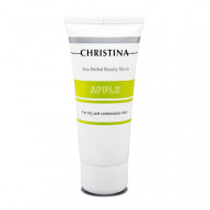 Маска красоты яблочная для жирной и комбинированной кожи CHRISTINA Sea Herbal Beauty Mask Green Apple 60мл: фото