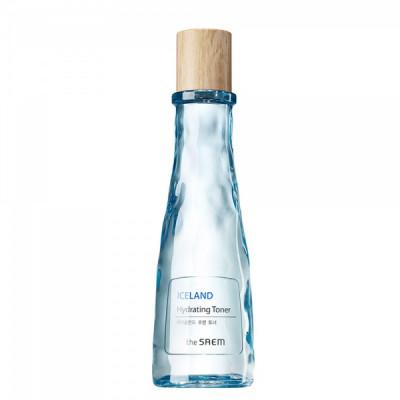 Тонер увлажняющий минеральный The Saem Iceland Hydrating Toner 160мл: фото