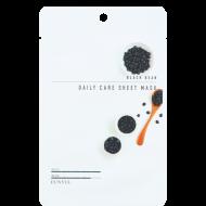 Тканевая маска с экстрактом черных бобов EUNYUL BLACK BEAN DAILY CARE SHEET MASK 22г: фото