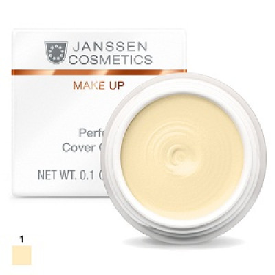 Тональный крем-камуфляж Janssen Cosmetics Perfect Cover Cream тон01 5мл: фото