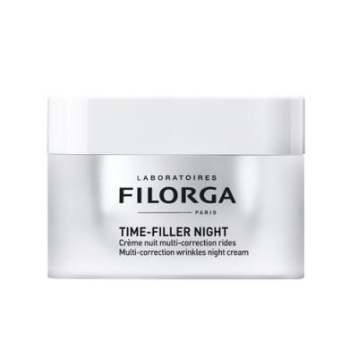 Крем восстанавливающий ночной против морщин Filorga TIME-FILLER NIGHT 50мл: фото