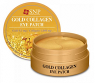 Патчи для глаз SNP GOLD COLLAGEN EYE PATCH RENEWAL 1,25г*60: фото