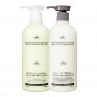 Lador Moisture Balancing Silicon Shampoo + conditioner set