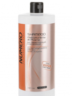 Шампунь для бриллиантового блеска с маслом арганы и макадамии Brelil Numеro Illuminating With Macadami Argan Oil Shampoo 1000мл: фото