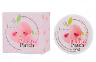 Патчи для глаз гидрогелевые L'arvore Hydrogel Eye&Cheek Petit Peach Patch 60 шт: фото