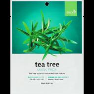Тканевая маска с экстрактом чайного дерева BERGAMO TEA TREE MASK PACK 28 мл: фото