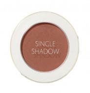 Тени для век матовые THE SAEM Saemmul Single Shadow Matte BR20 Shadow Brown: фото
