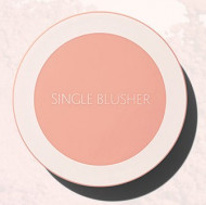 Румяна THE SAEM Saemmul Single Blusher OR06 Apricot Whipping: фото