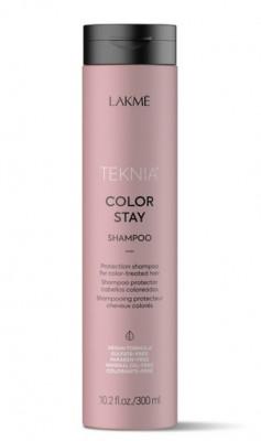Бессульфатный шампунь для защиты цвета окрашенных волос Lakme Teknia COLOR STAY SHAMPOO 300 мл: фото