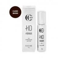 Хна для бровей CC Brow Premium henna HD Classic brown 5 г: фото