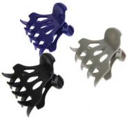 Зажимы для волос пластиковые Sibel цветные 6шт: фото