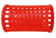 Бигуди пластиковые Sibel 40мм красные 10шт: фото
