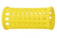 Бигуди пластиковые Sibel 30мм желтые 10шт: фото
