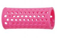 Бигуди пластиковые Sibel 28мм розовые 10шт: фото