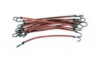 Резинки для волос на крючках Sibel 12шт коричневые: фото