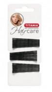 Невидимки волнистые Titania 5см черные 30шт: фото