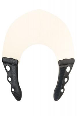 Воротник для стрижки и окрашивания Y.S.PARK 0.6мм, натуральный с чёрным: фото