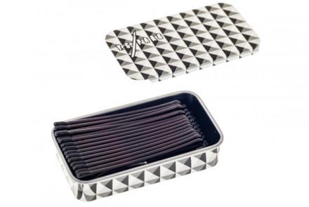 Невидимки гладкие 49мм Y.S.PARK YS-801 коричневые 45шт: фото