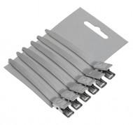 Зажимы для волос металлические Sibel 8,5см 6шт: фото