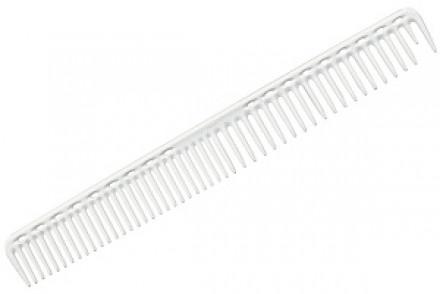 Расческа для стрижки редкозубая длинная Y.S.PARK YS-333 белая: фото