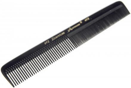 Расчёска каучуковая с удлиненными зубьями HERCULES 692 17,8см: фото