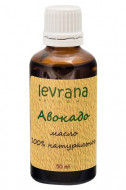Натуральное масло для волос Levrana Авокадо 100% 50мл: фото